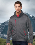 Tri-Mountain J6840 Olympia-Men's 100% Poly Knit3 In I Jacket Inside With Zip Off Vest