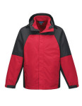 Tri-Mountain J8750 Utah-Men's 2 In I 100% Polyester w/R Jacket, Inside Poly Fleece Jacket