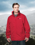 Tri-Mountain J8885 Maine-Men's 3 In 1 Jacket, Inner With Zipped Out Poly Fleece Jacket