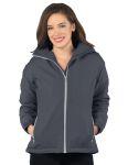 Tri-Mountain JL8850 Bellrose-Womens Hooded Honeycomb Poly/Fleece Jacket