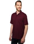 Tri-Mountain K020P Vital Pocket-Men's 100% Polyester Knite Gold Shirt