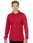 Tri-Mountain K030LS Stalwart Long Sleeve-Men's L/S Snag-Resistant Polo