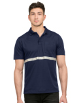 Tri-Mountain K035 Civic-Pocketed Polo With Reflective Tape