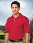 Tri-Mountain K158P Vigor Pocket-Men's 100% Polyester S/S Pique Polo