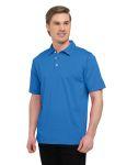 Tri-Mountain K435 Corona-Men'??s 92% Polyester 8% Spandex, S/S Polo Shirt