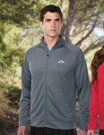 Tri-Mountain K630 Exocet-Men's 100% Polyester Knit Full Zip Jacket