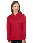 Tri-Mountain KL030LS Lady Stalwart Long Sleeve-Women's L/S Snag-Resistant Polo