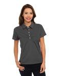 Tri-Mountain KL435 Calera-Women'??s 92% Polyester 8% Spandex, S/S Polo Shirt