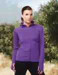 Tri-Mountain KL641 Alyssa-Women's Jacket With Slash Pockets And Sleeve With Thumbhole