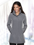 Tri-Mountain LB2988 Katherine - Women's 100% polyester woven water resistent trench coat lined with polyester