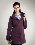 Tri-Mountain LB5360 Kate-Women's 60% Cotton 40% Poly 108x58/21x21 Twill With 600mm Water Resistant Coat.