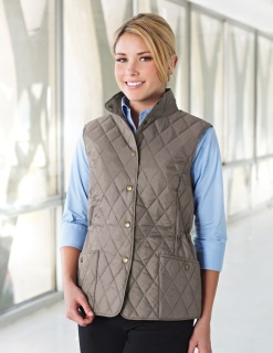 Tri-Mountain LB8221 Bailey-Women's 95% Polyester 5% Nylon Woven Poly-Filled Quilted w/R Jacket.