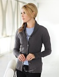 Tri-Mountain LB924 Ava - Women's 100% Arcylic Long Sleeve Sweater Cardigan
