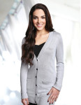 Tri-Mountain LB928 Elizabeth-Women's Boyfriend Sweater Cardigan