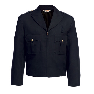 Tactsquad 10505 Zippered Front Ike Jacket - Serge Weave