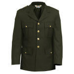 Tactsquad 10601 Single Breasted Dress Coat - Elastique Weave