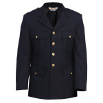 Tactsquad 10603 Single Breasted Dress Coat - Serge Weave