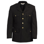 Tactsquad 10604 Single Breasted Dress Coat - Serge Weave