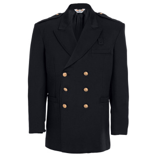 Tactsquad 10705 Double Breasted Dress Coat - Gabardine Weave