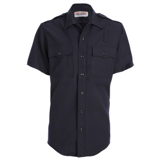 Tactsquad 11010 Mens LAPD Short Sleeve Shirt - Serge Weave