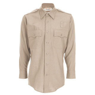 Tactsquad 11015 Mens Class A LASD Long Sleeve Shirt - Plain Weave