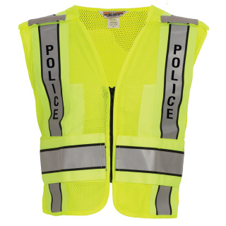 Tactsquad 128 ANSI 207-2011 Mesh Safety Vest