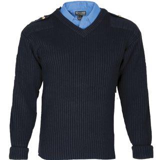 Tactsquad 2004 Wool Commando V-neck Sweater