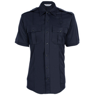 Tactsquad 580 Mens Coolmax Class A Short Sleeve Shirt with Zipper