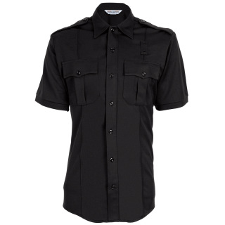 Tactsquad 581 Mens Coolmax Class A Short Sleeve Shirt with Zipper