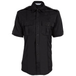 Tactsquad 581 Mens Coolmax Class A Short Sleeve Shirt with Zipper