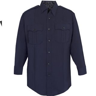 Tactsquad F820 NYPD Long Sleeve Shirt - Poly/Rayon