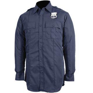 Tactsquad F830MEN NYPD Long Sleeve Shirt - Poly/Cotton - Men's