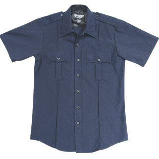 Tactsquad F831MEN NYPD Short Sleeve Shirt - Poly/Cotton -Men's