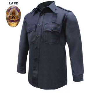 Tactsquad FR805MEN LAPD Regulation Long Sleeve Shirt - Men's