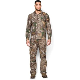 Under Armour Men/'s Realtree AP-Xtra UA Chesapeake Camo L//S Button Down Shirt
