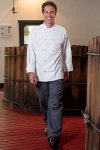 Uncommon Threads 0402 Chef Coat 10 Buttons