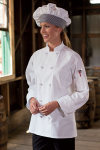 Uncommon Theards 0403c Classic Knot 100% Cotton Chef Coat