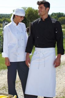 Uncommon Theards 0413 Classic Poplin Chef Coat