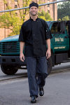 Uncommon Theards 0421 Delray with Mesh Chef Coat
