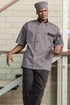 Uncommon Threads 0423 Bristol Ss Chef Coat 10 Button