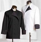 86 CUSTOM 12 CLOTH COVERED CHEF COAT