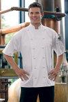 Uncommon Theards 0493ec Short Sleeve Master Chef Coat