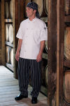 "Uncommon Theards 4005C Classic Baggy Chef Pant 2"" Elastic Waist"