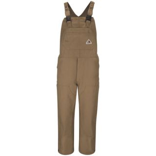 Bulwark® BLF6 Brown Duck Unlined Bib Overall