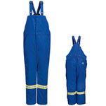 Bulwark BNNT Deluxe Insulated Bib Overall with Reflective Trim - Nomex® IIIA