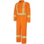 3.727 CLBC Premium Coverall with CSA Compliant Reflective Trim - EXCEL FR  ComforTouch