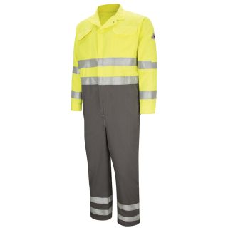 """2.8 CMDC Deluxe Colorblocked Coverall with 2"""" Reflective Trim - CoolTouch  2 - 7 oz."""