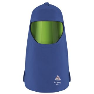 Bulwark® HLC4 40 cal/cm  Hood with Protective Shield