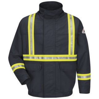 Bulwark® JLJC Lined Bomber Jacket With CSA Reflective Trim - EXCEL FR  ComforTouch