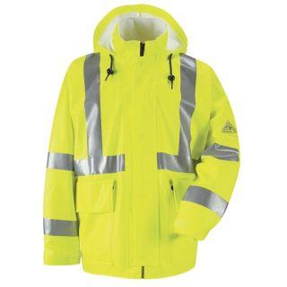 Bulwark® JXN4 Hi-Visibility Flame-Resistant Rain Jacket CAT2
